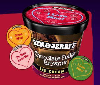 pot de glace pour la st-valentin