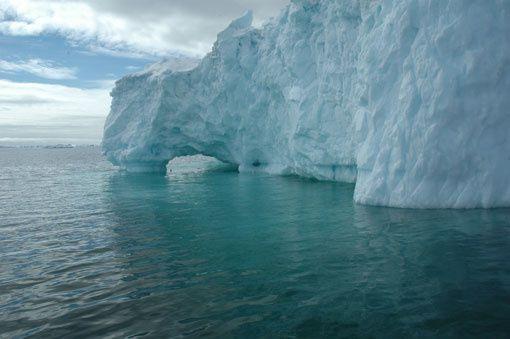 Ben & Jerry's Climate Change College - banquise Arctique