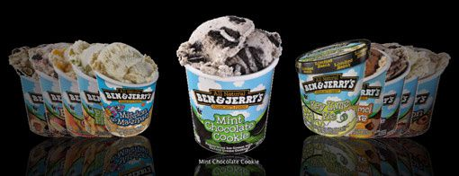 glaces americaines Ben & Jerry's