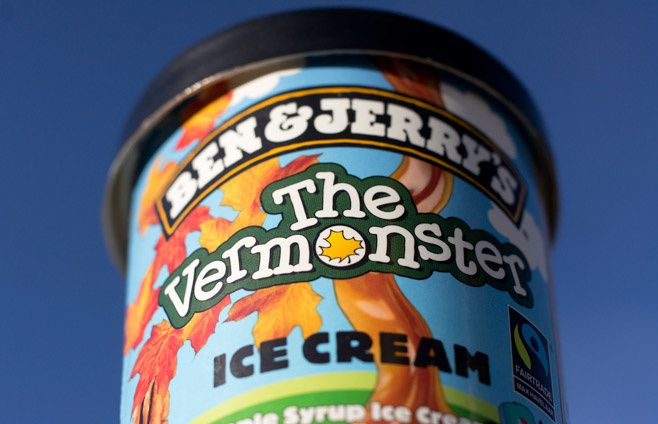 Pot The Vermonster Ben & Jerry's