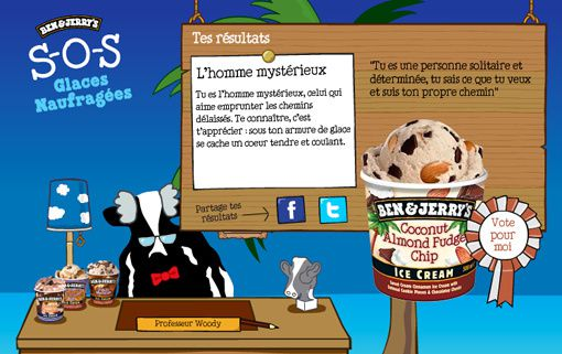 le psycho test givr du professeur woody ben jerry 39 s. Black Bedroom Furniture Sets. Home Design Ideas