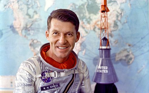 L'astronaute Willy Schirra - Mercury - Nasa