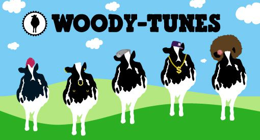 vaches woody tunes