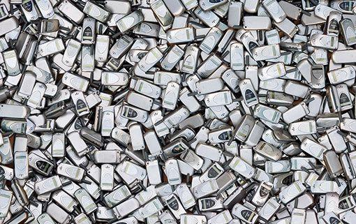 recyclage de telephones portables
