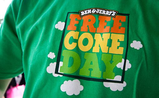 Free Cone Day !