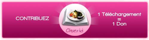 Chaîne rose. 1 téléchargement = 1 don
