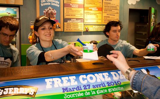 Free Cone Day - 27 avril 2010