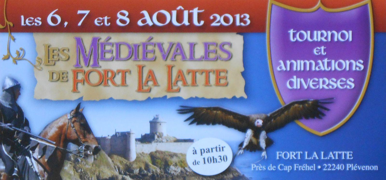Les médiévales de Fort La Latte