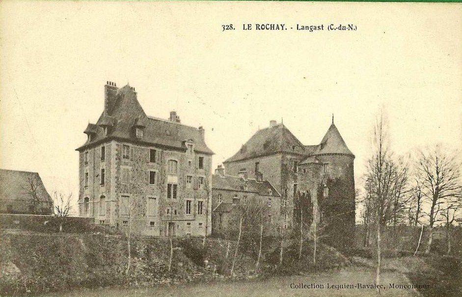 Château du Rochay, Langast