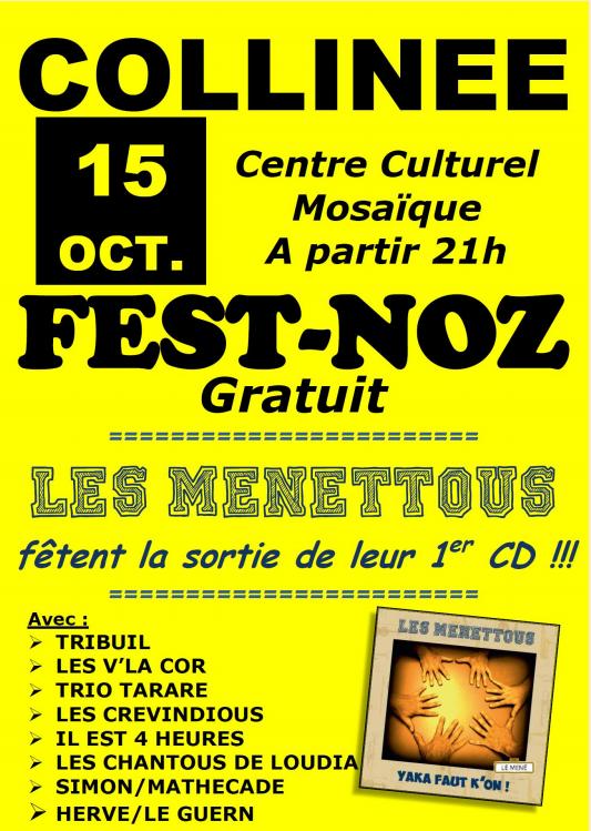 Les Menéttous - Collinée - 15 octobre 2016