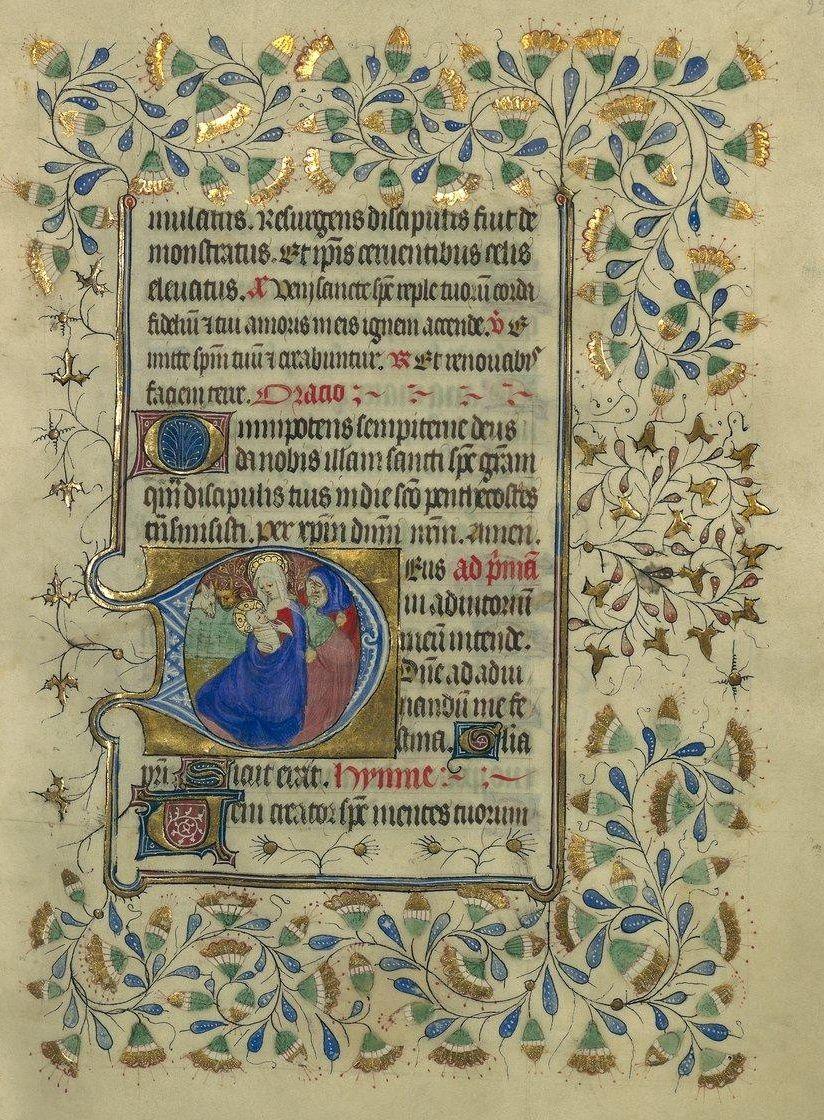 Horae ad usum Briocensem - BnF, Département des manuscrits, NAL 3194, fol. 29r