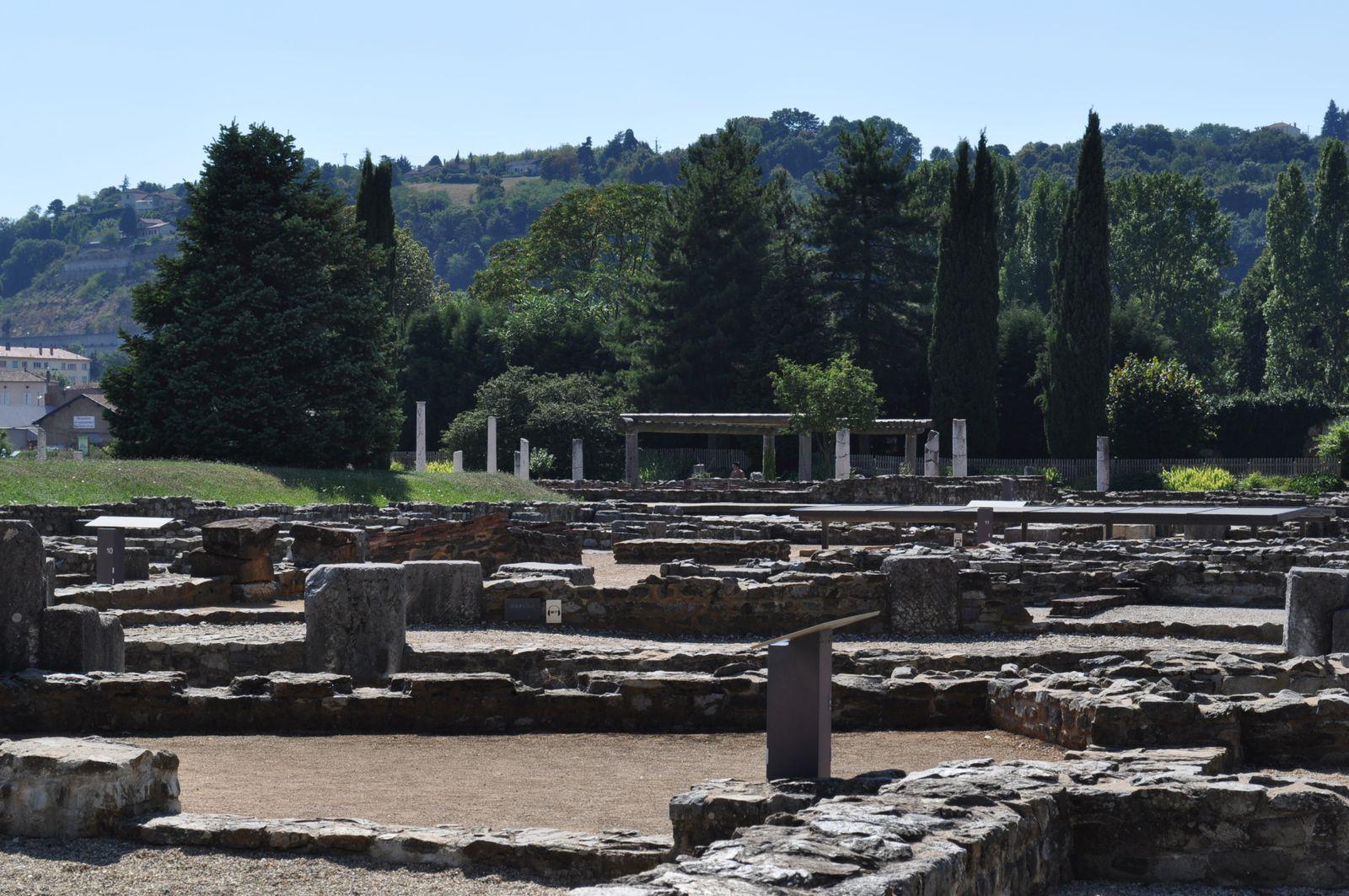 Musee Gallo-Romain- St romain en Gal