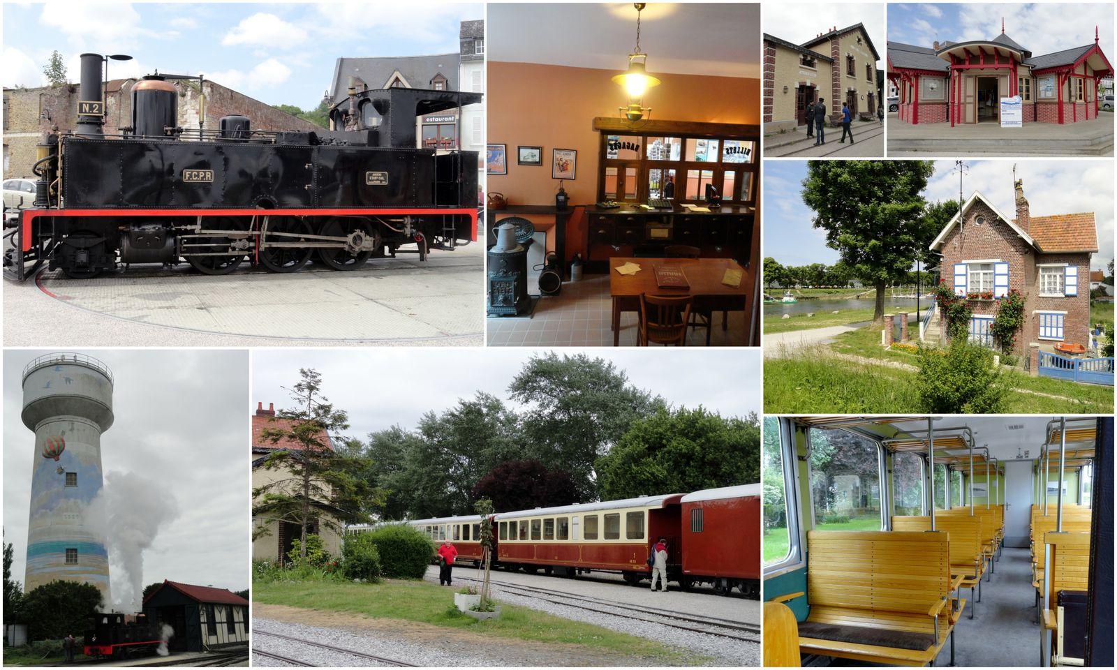 Escapade en baie de somme , le train à vapeur, le Crotoy, la faune...