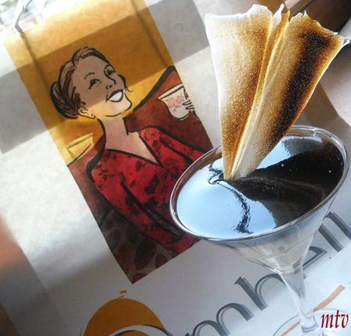 CREME SPECULOOS SOUS SON MIROIR CAFE