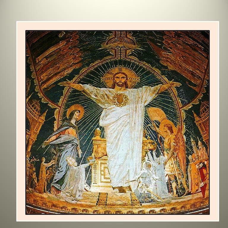 """""""Mon Œuvre est tout d'abord Mon Règne du dedans""""Le royaume de Dieu est au dedans de vous"""""""