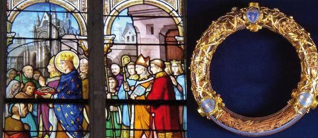 Le 10 Aout 1806,la Sainte Couronne est ramenée à Notre Dame de Paris Prions