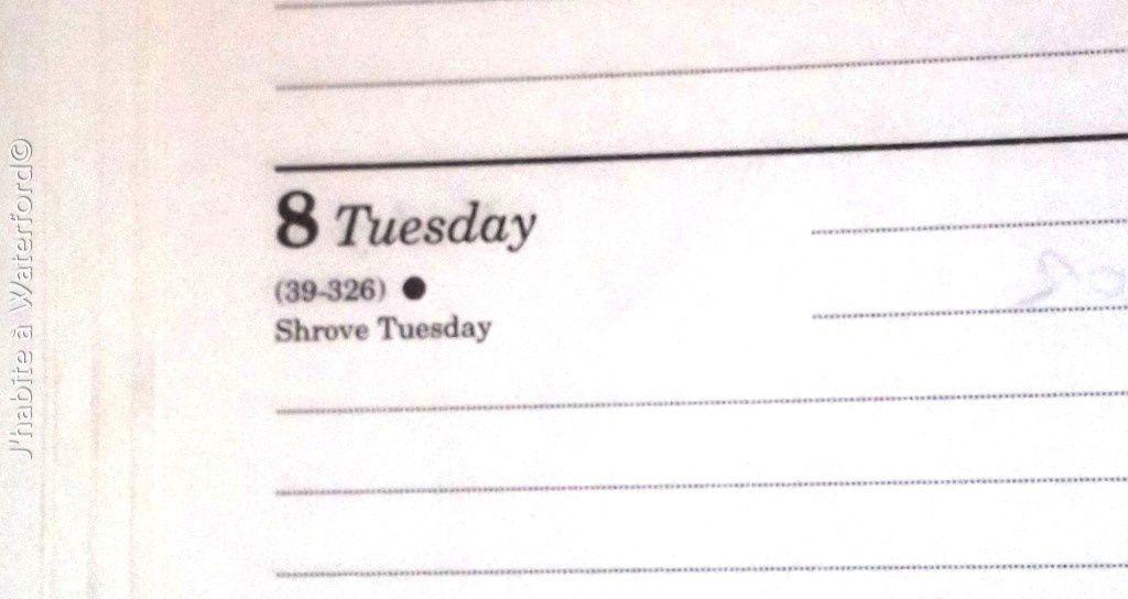 Non, ce n'est pas le calendrier de cette année!