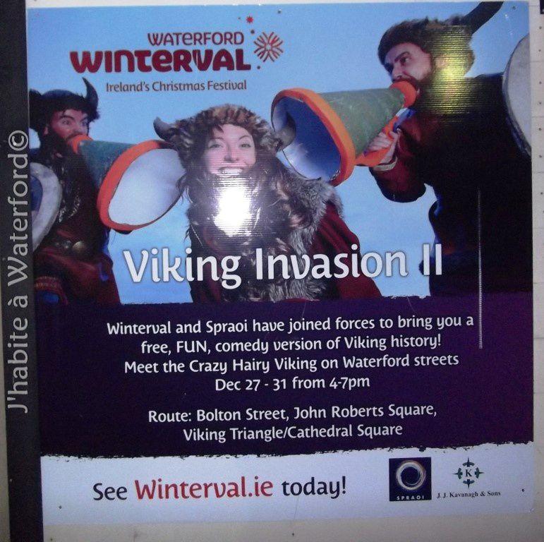 Bon Anniversaire Waterford, les Vikings sont de retour!