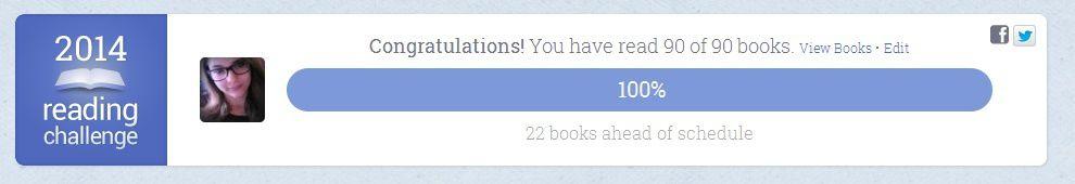 Lire 90 livres en 2014 : DONE !