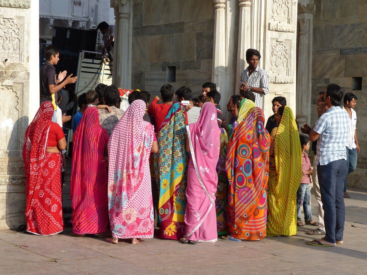 Udaipur : la fin du festival de Durga !