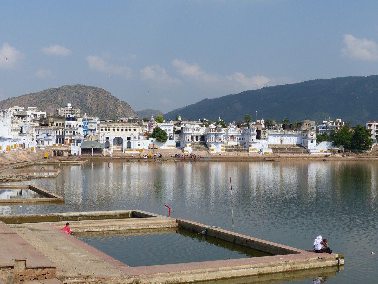 Pushkar la ville du lac sacr jeux et enjeux des for Piscine du lac