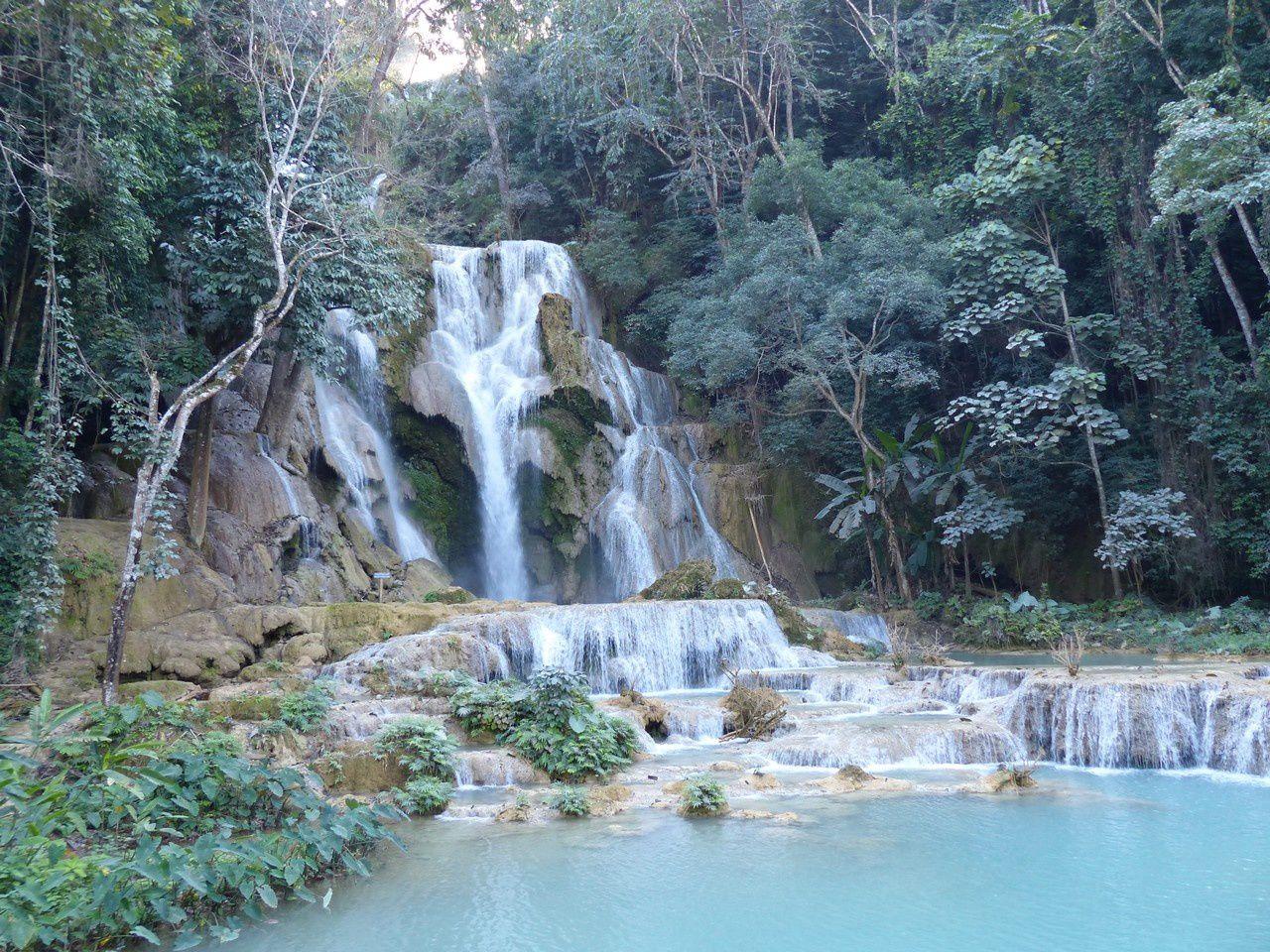 Luang Prabang, et Muang Ngoi : Encore des paysages splendides