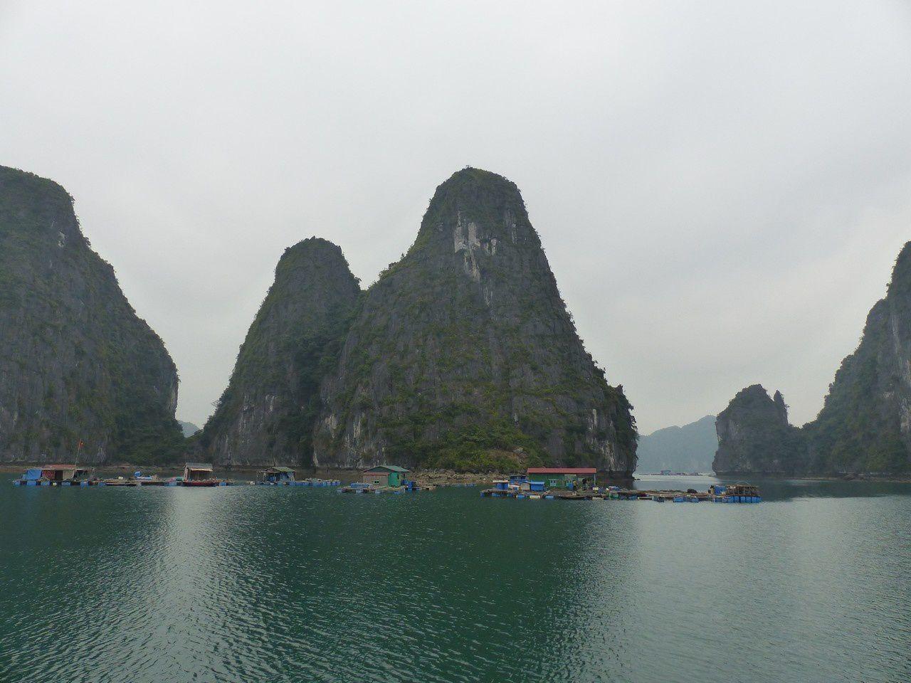 La baie d'Halong…ou plutôt la baie de Lan Ha