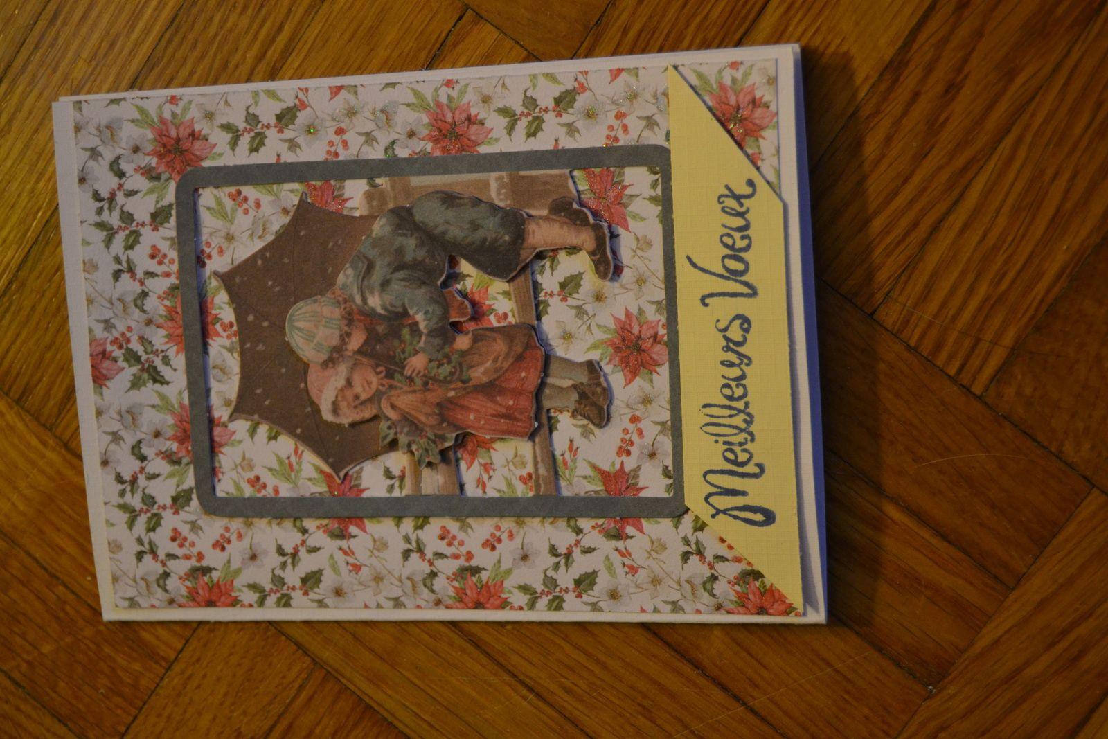 De belles cartes dans ma boîte à lettre