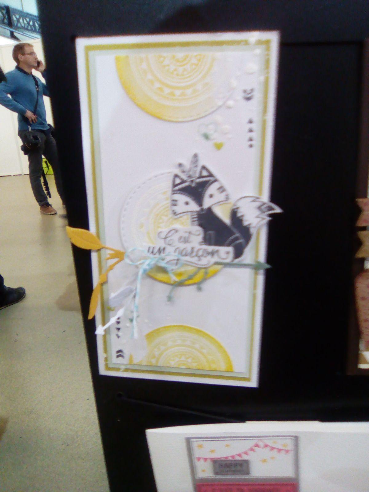 Créations coups de coeurs chez Florilèges Design avec une création en démonstration de Steff