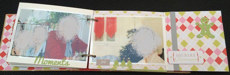 Album Noel avec les papiers zinnia de swirlcards