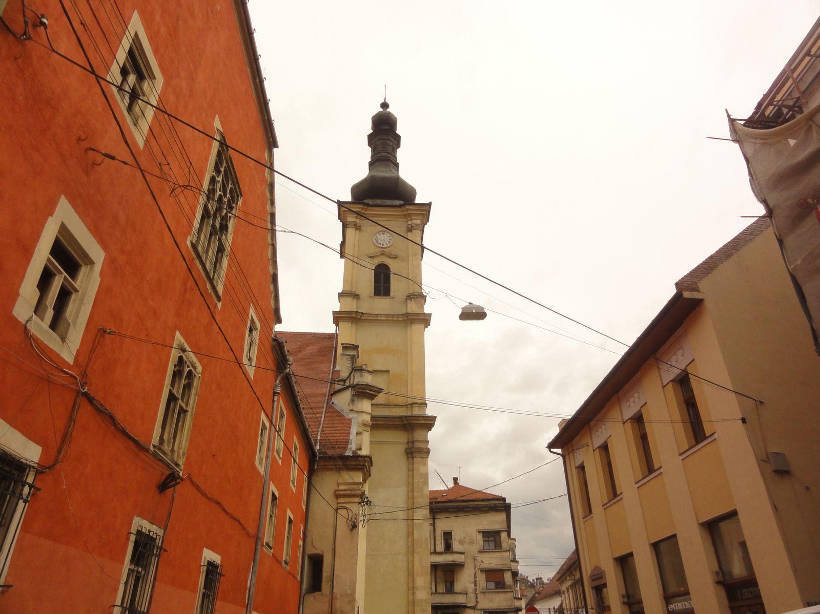 Les toits de Cluj
