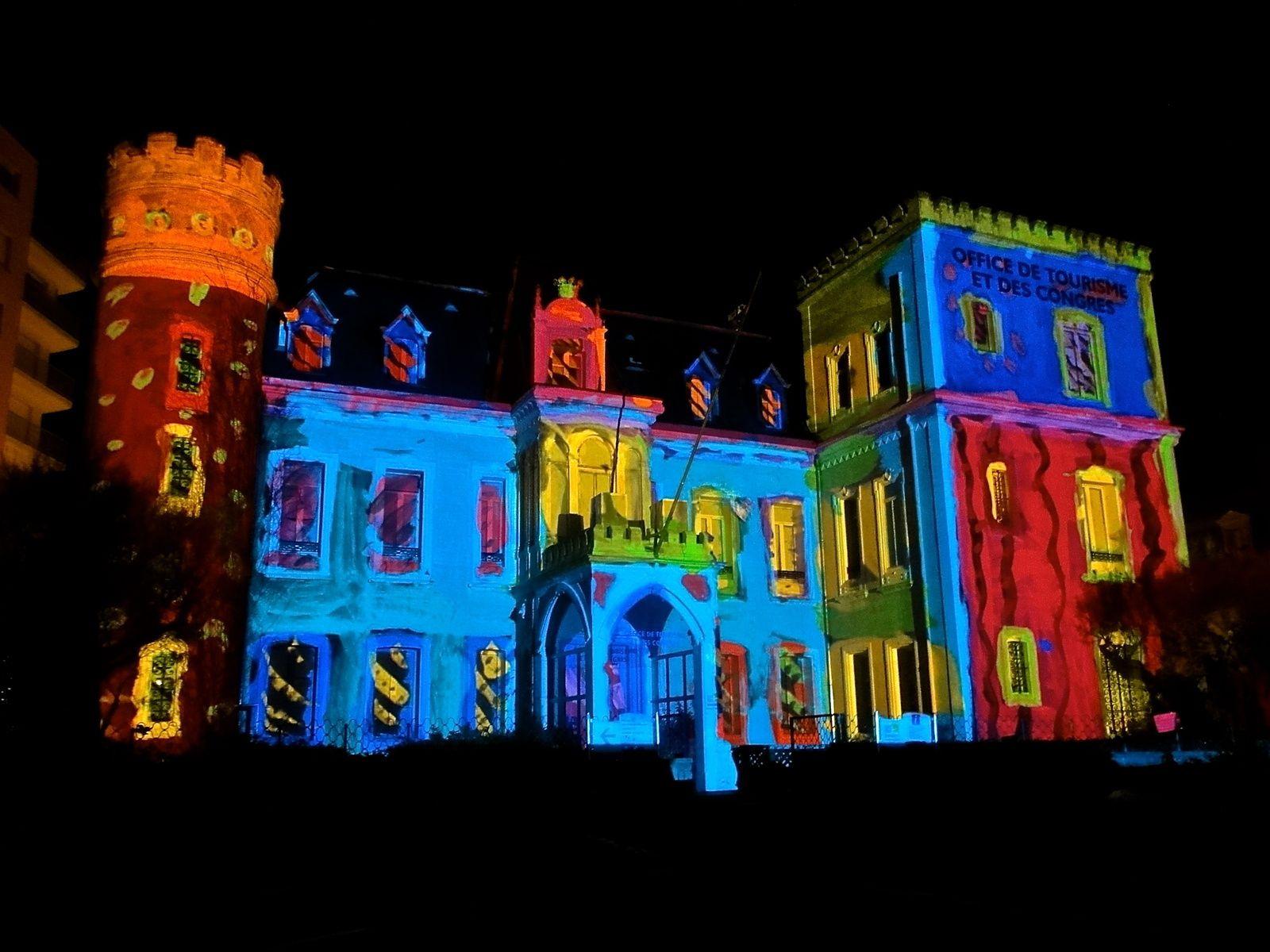 Nuit blanche en pleine lumière, Biarritz décembre 2013