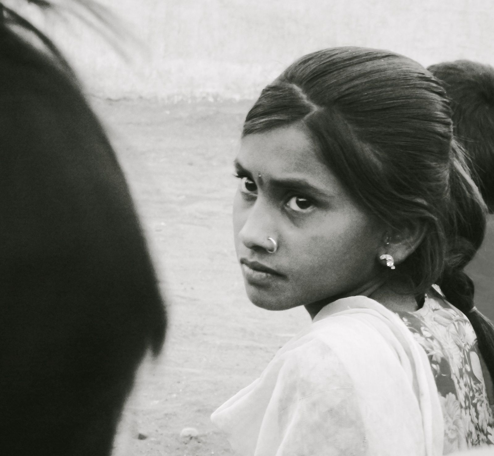Little girl, Bhuranpur District - May 2014