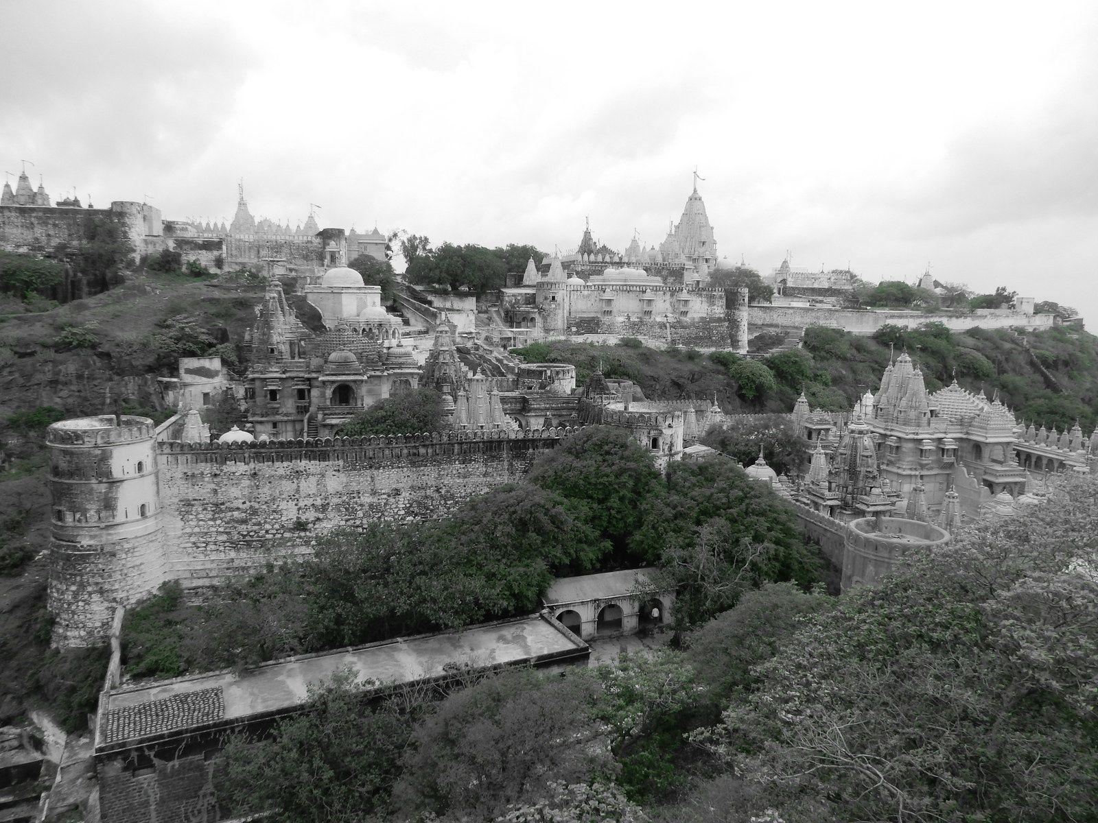 Palitana, Gujarat - Juillet 2014