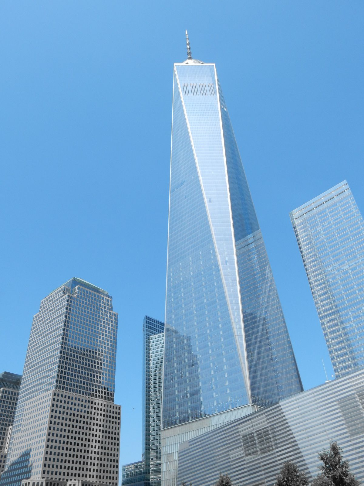 Buildings, New-York, USA - Août 2014