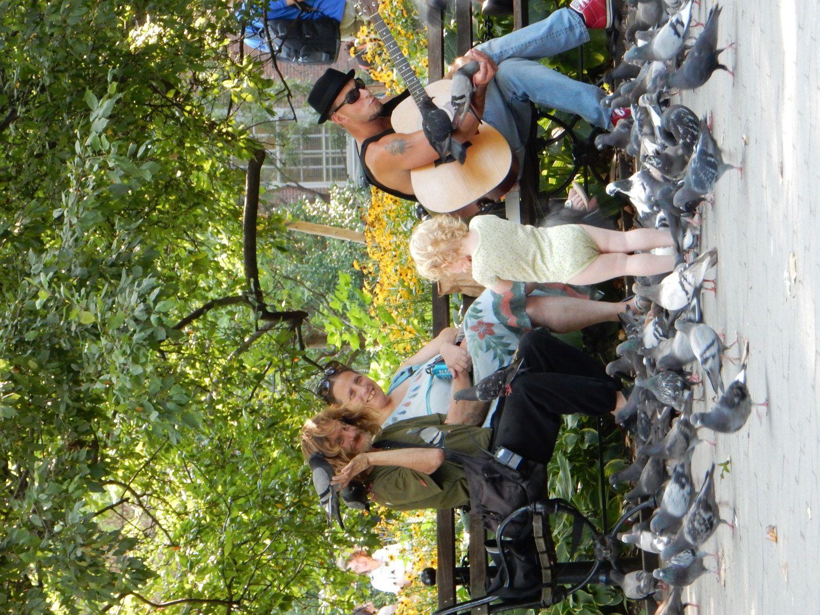 Washington Park, NYC - Août 2014