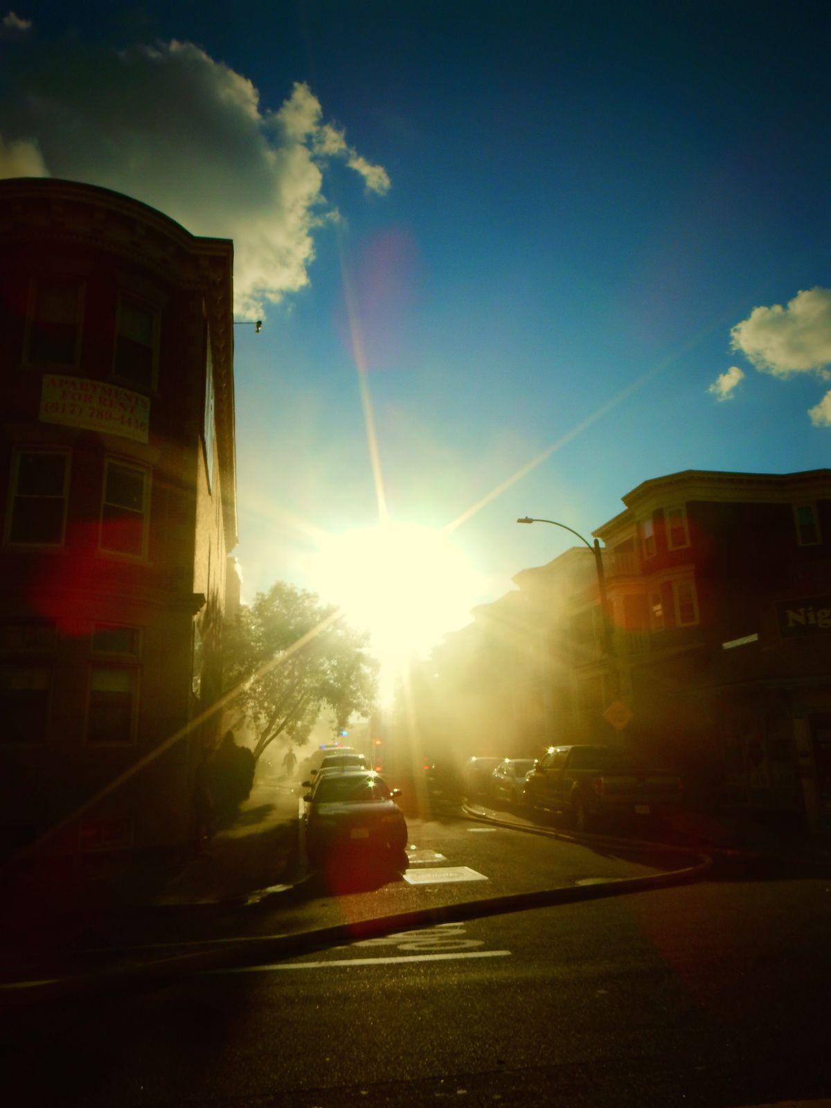 Boston in fire - Septembre 2014