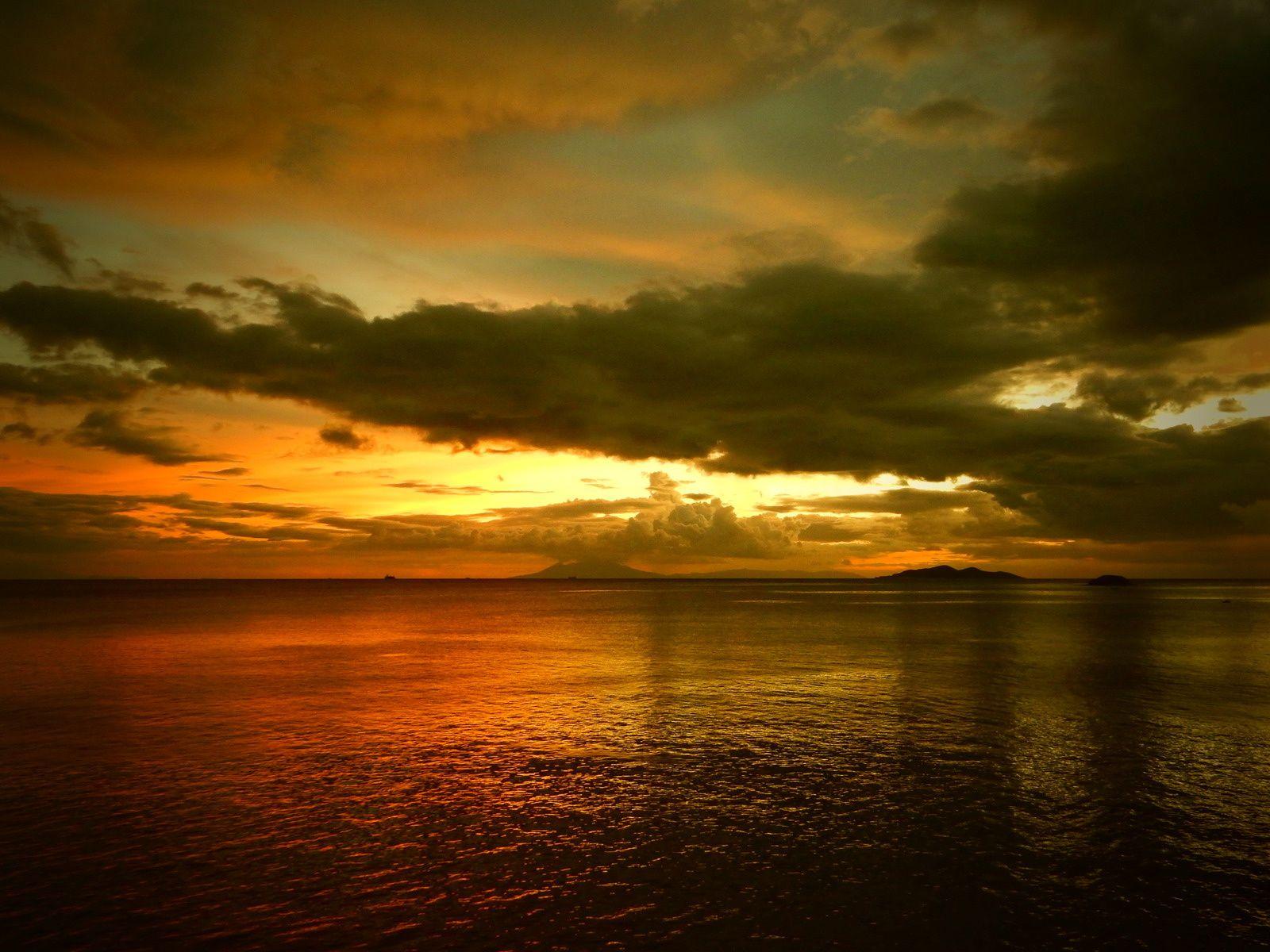 Essais Sunset view in Punta Fuego Peninsula - Octobre 2014