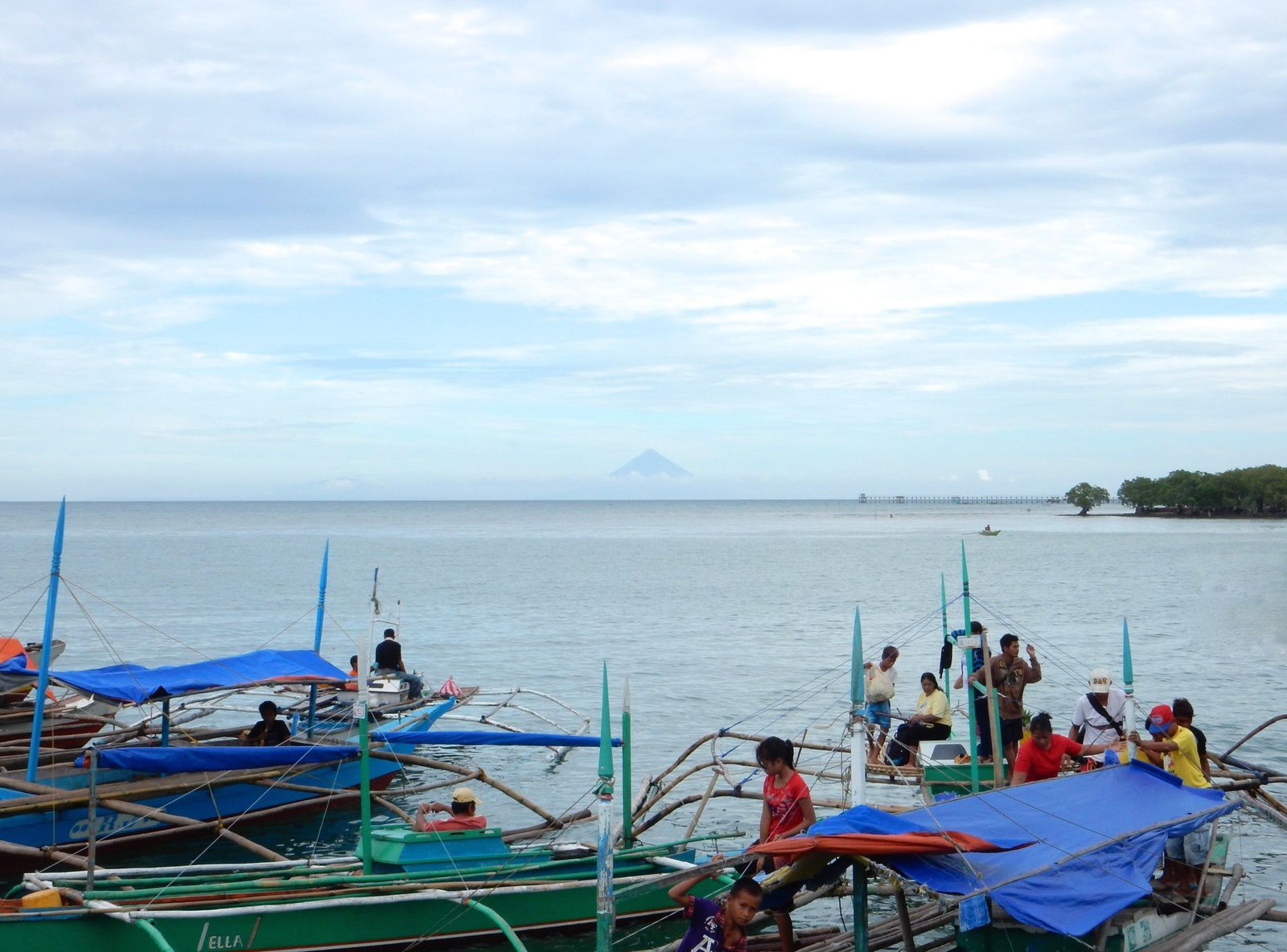 Mayon from Aroroy, Philippines - Décembre 2014