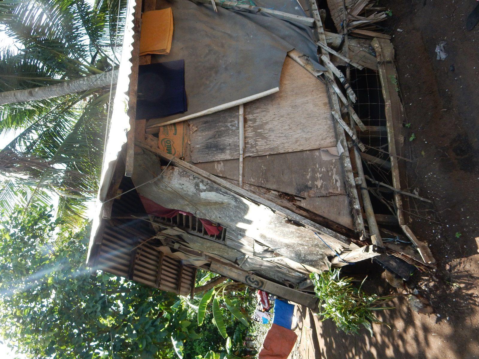 Typhon Ruby/Hagupit, Masbate - Décembre 2014