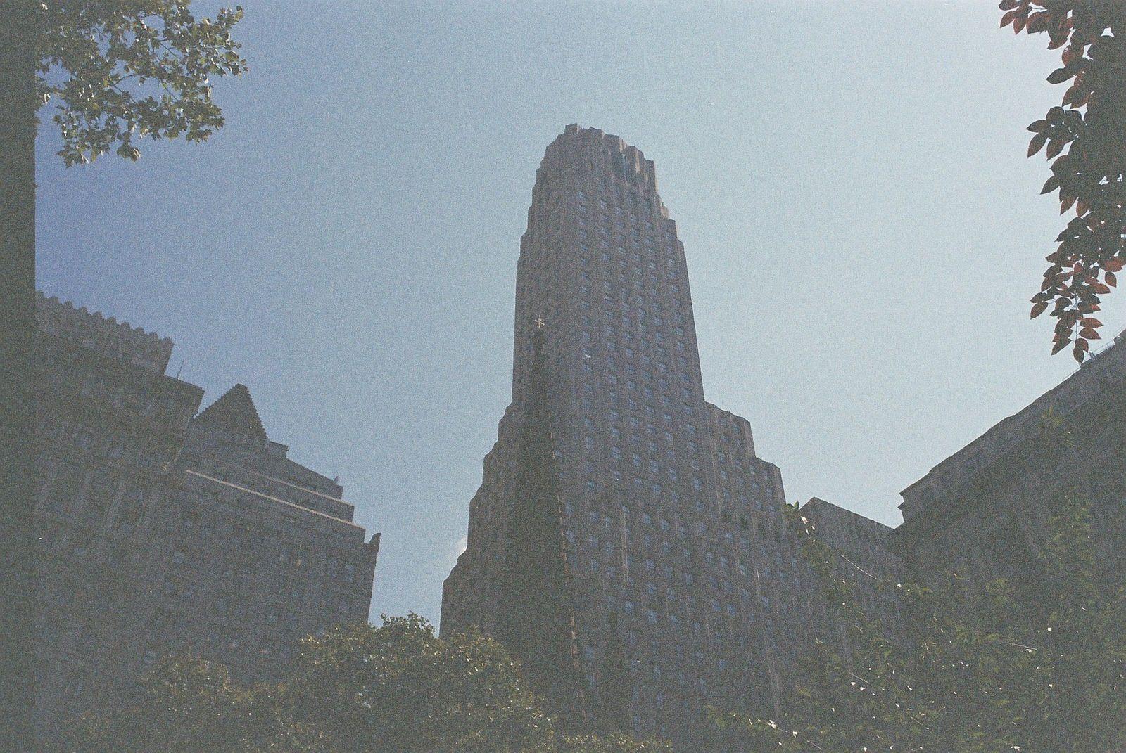New York en argentique, USA - Août 2014