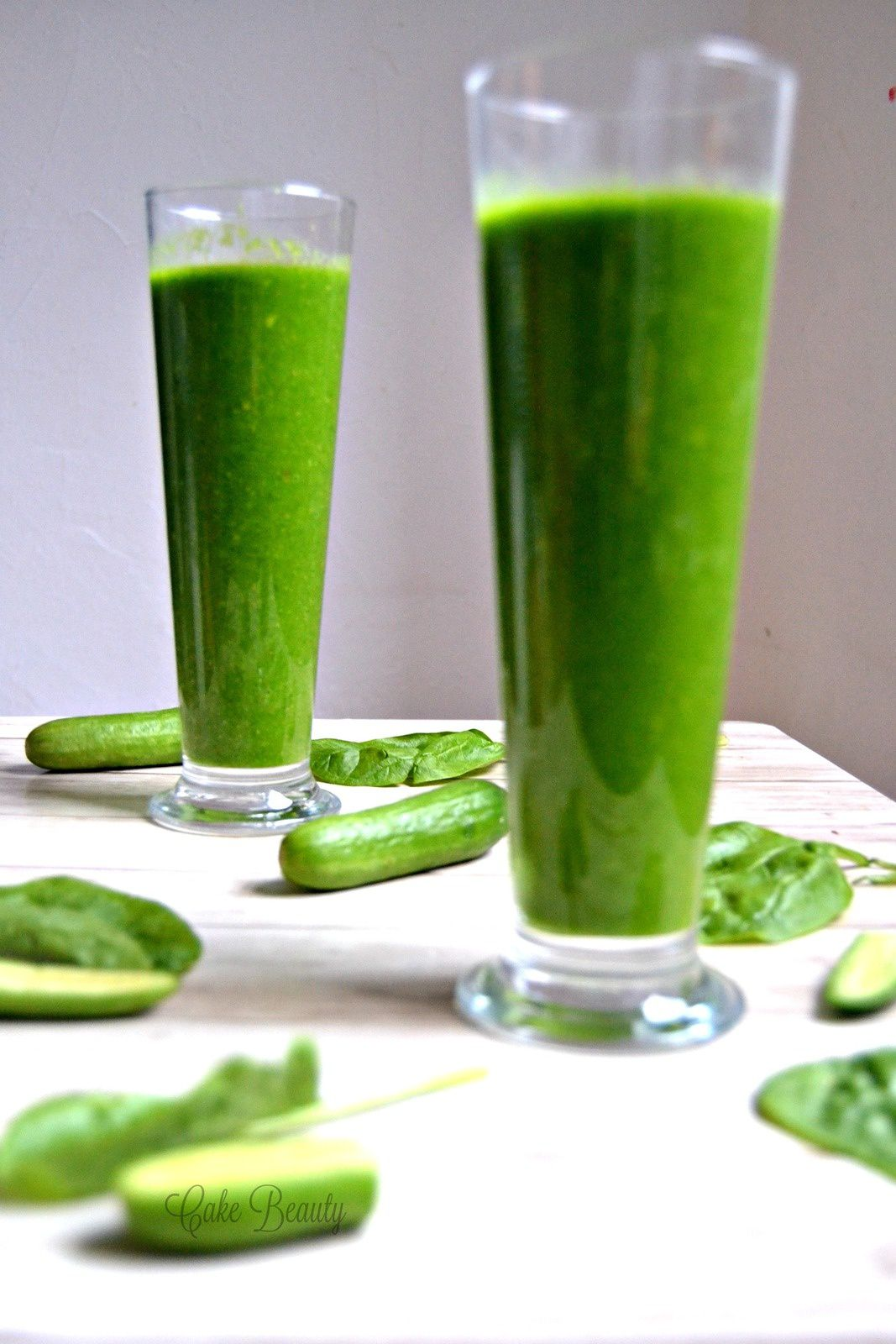 Green Smoothie Concombre Epinard Avocat