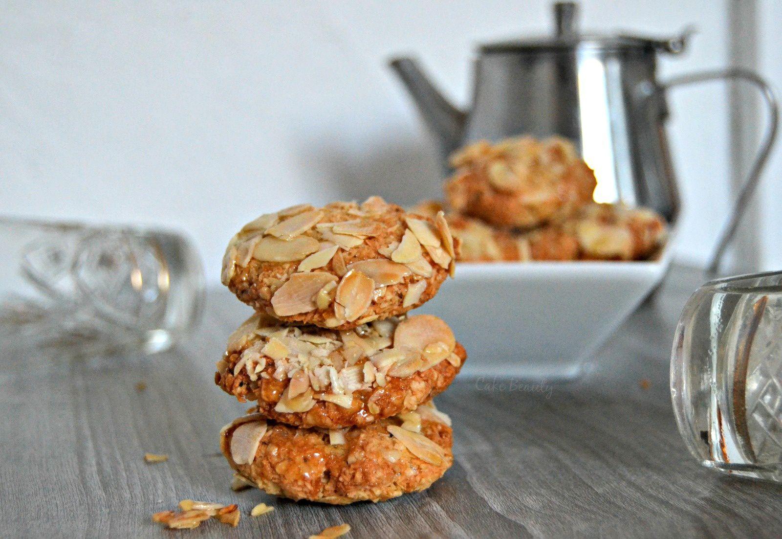 Biscuits Algérien Cacahuètes &amp&#x3B; Miel