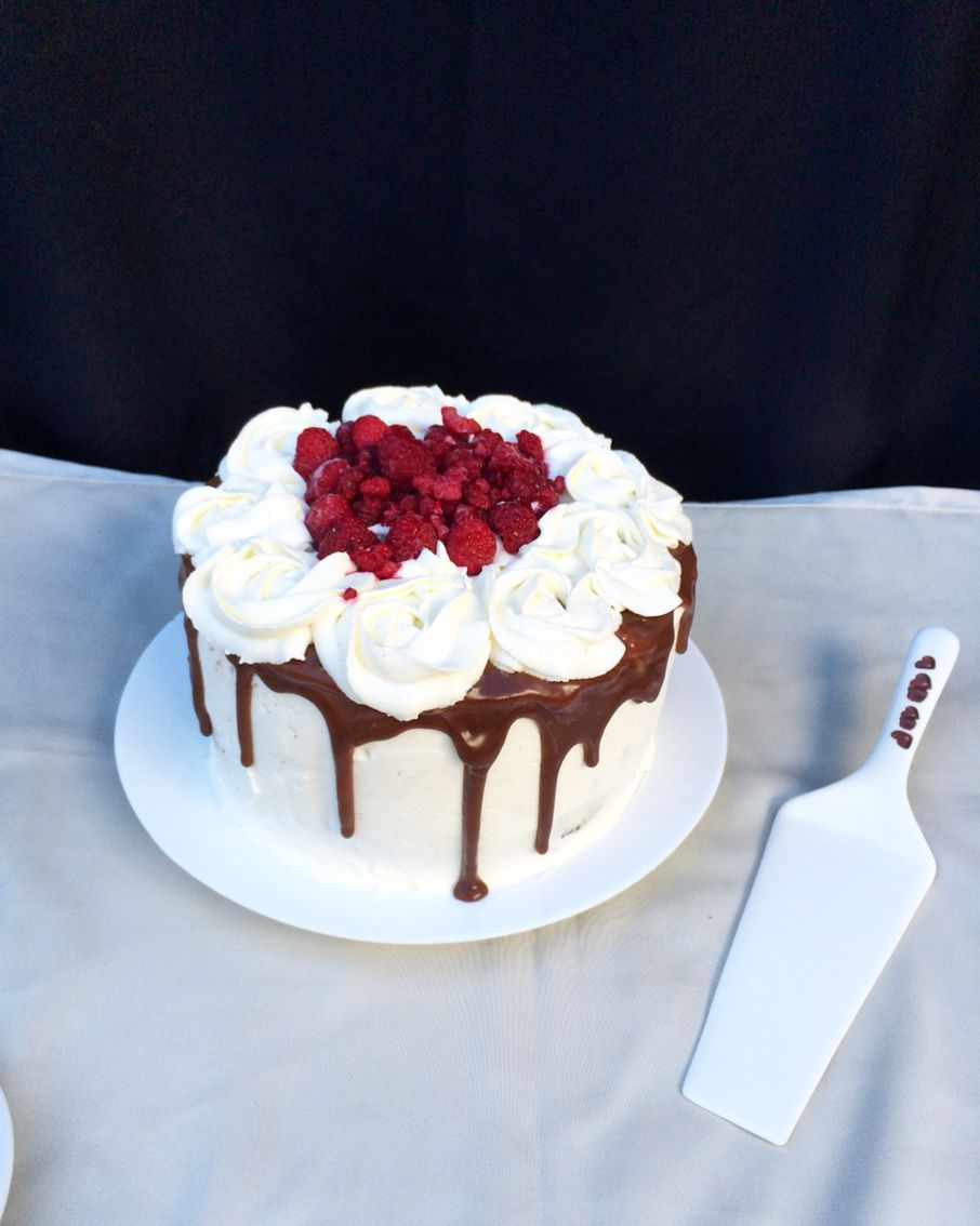 Layer Cake Chocolat Vanille Framboise