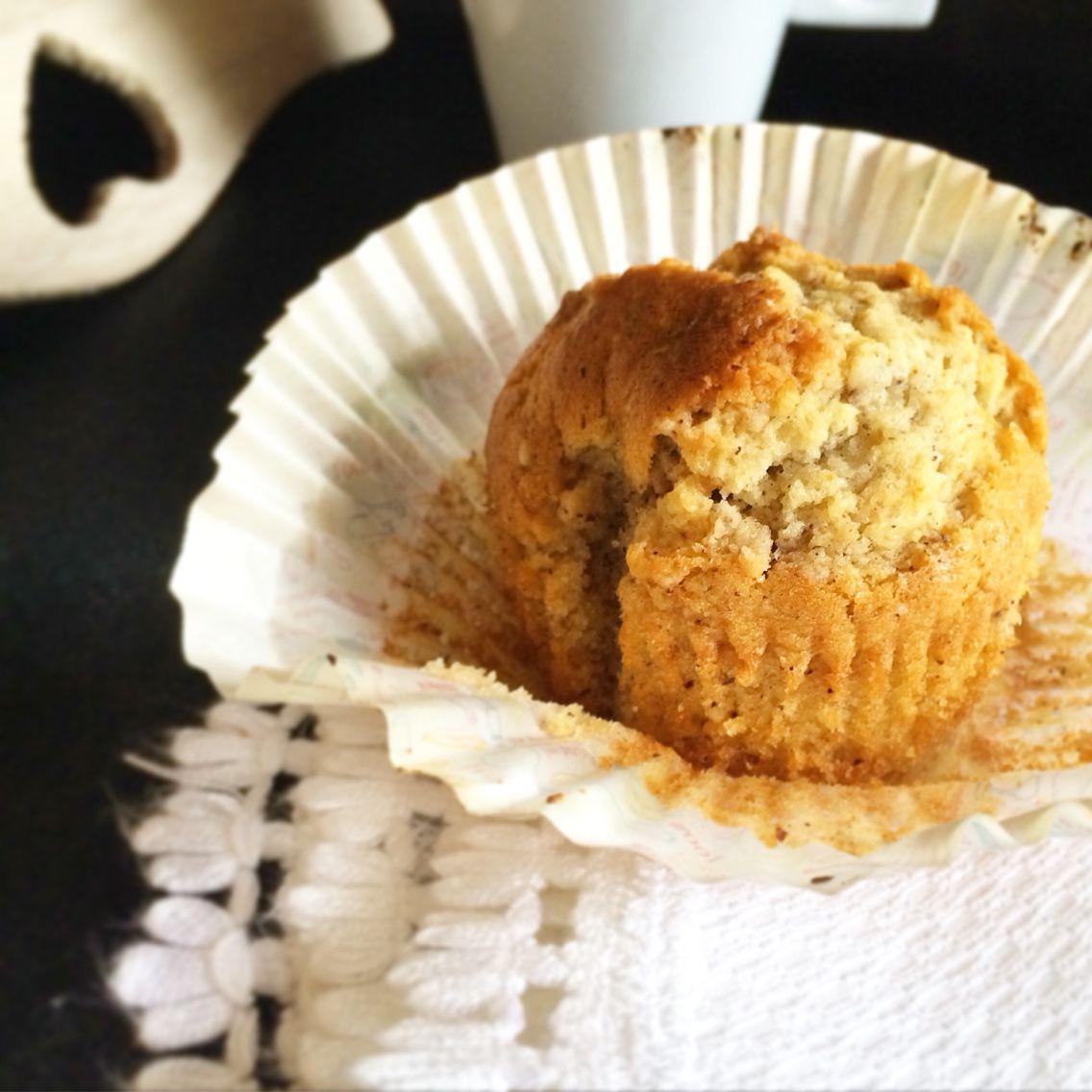 Muffins à la Crème Noisette