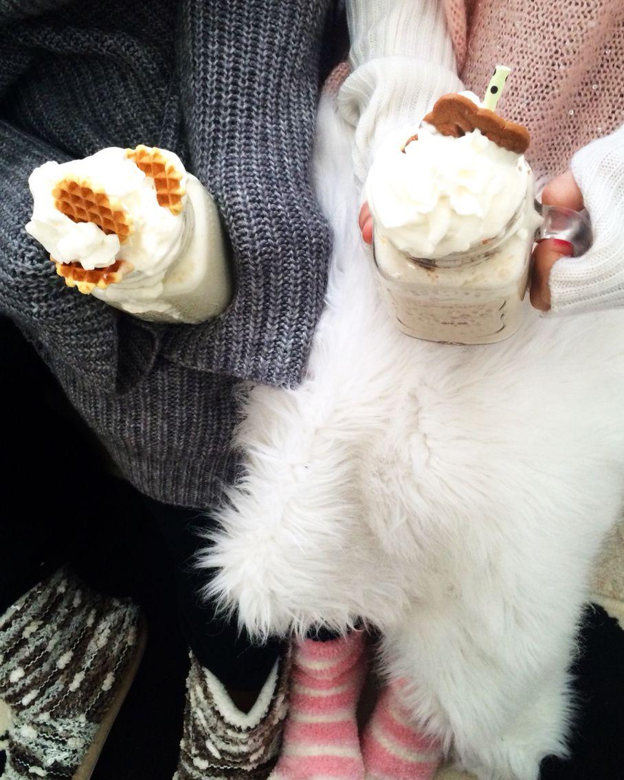 Chocolat Chaud Blanc &amp&#x3B; Cupcake Nuttela, Perfect cocooning