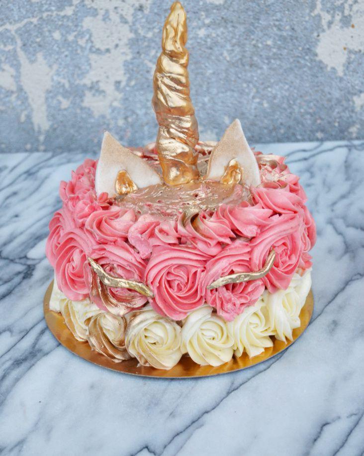 Licorne Cake.... Argenté ou doré ?