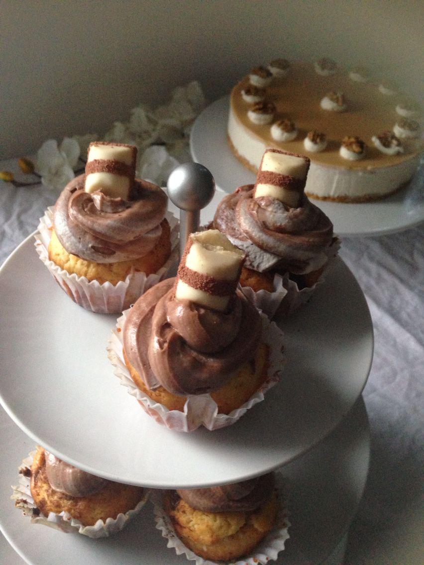 Cupcake kinder Bueno white