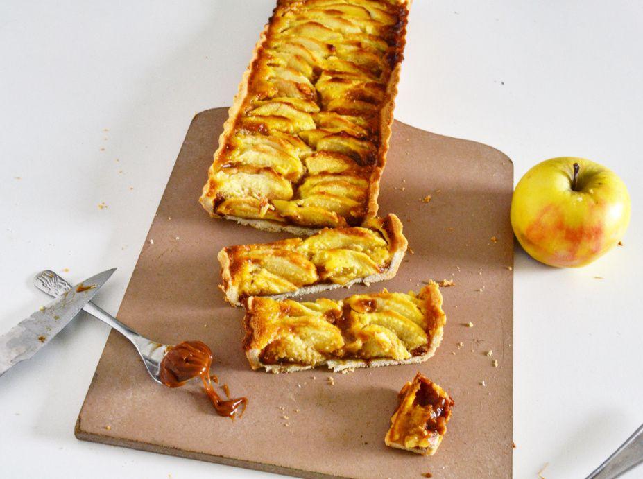 Tarte aux Pommes &amp&#x3B; Caramel au beurre salé