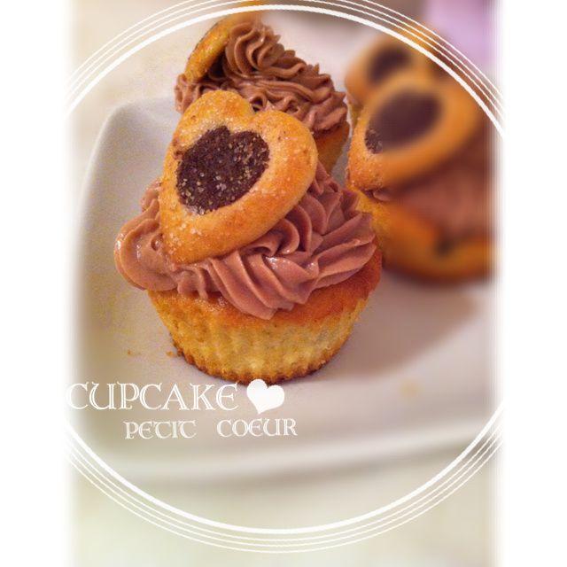 Cupcake petit coeur